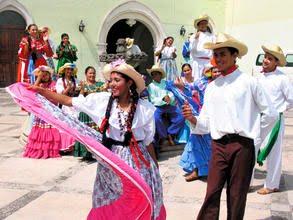 Baile folklórico hondureño