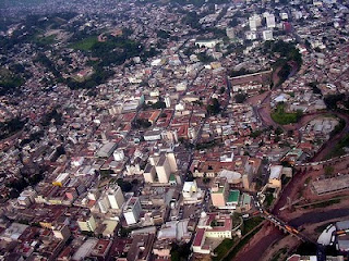 Vista aérea de Tegucigalpa