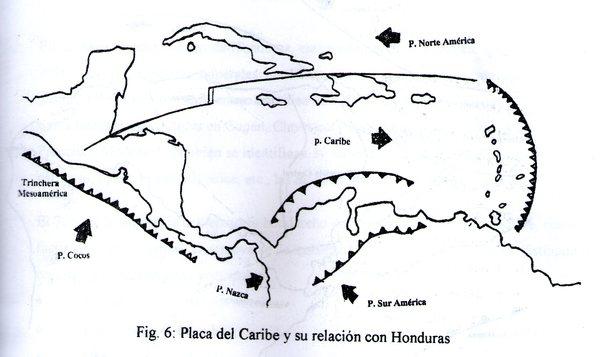 Placa del Caribe y su Relación con Honduras